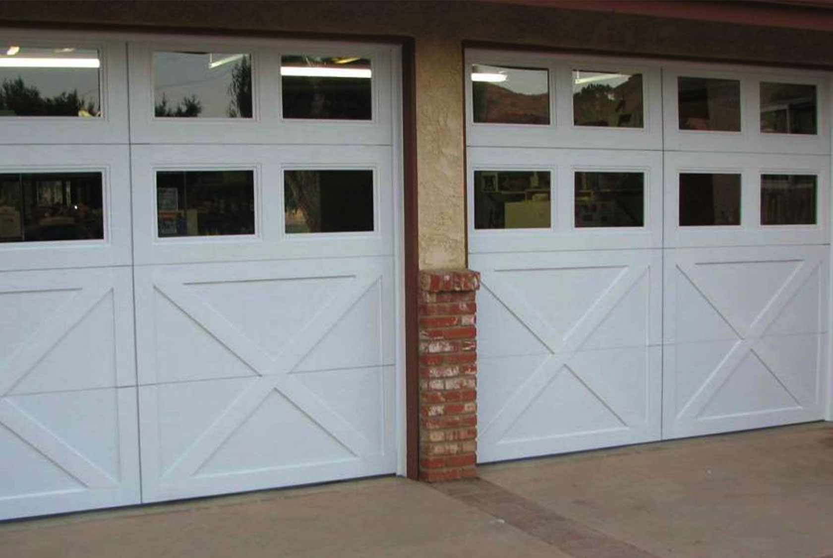 Double Everything Acton Carriage Doors
