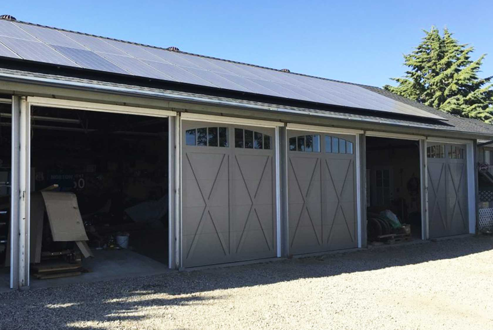Frazier Park Garage Doors Conversion